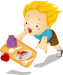 illustration-of-a-little-kid-boy-tumbles-down-and-drops-his-food_144380440